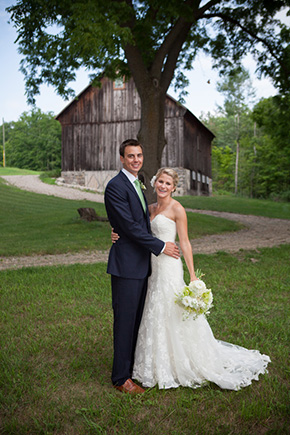 ranch wedding A Preppy Lake Wedding in Michigan