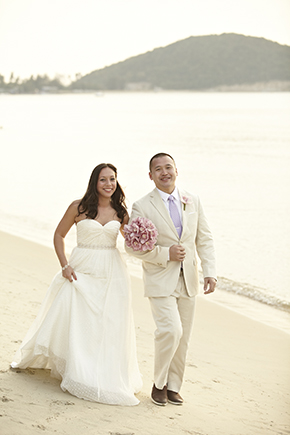 beach wedding location thailand
