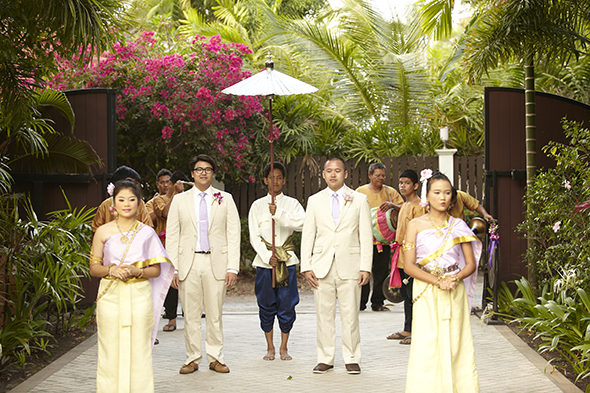 beach wedding thailand wedding