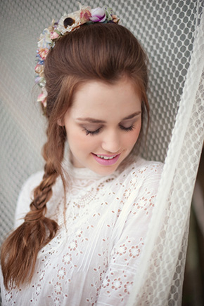 braid bridal hair