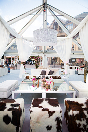 cowhide wedding ideas