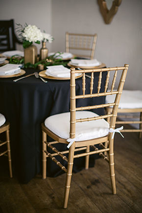 gold wedding Modern Beach Wedding Ideas at the Pacific Edge Hotel