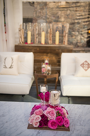 pink rustic weddings