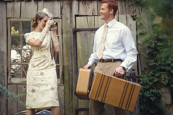 vintage destination wedding