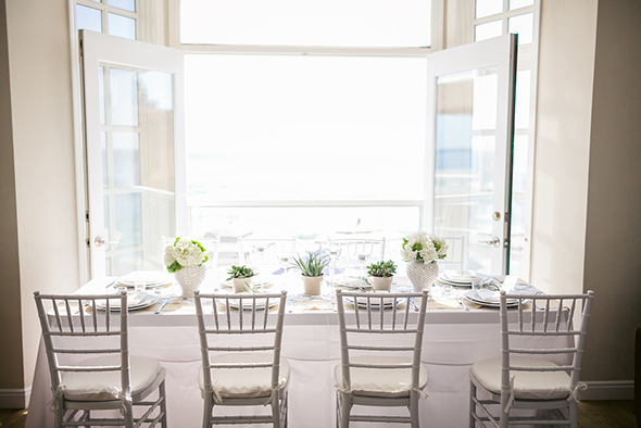 white wedding Modern Beach Wedding Ideas at the Pacific Edge Hotel