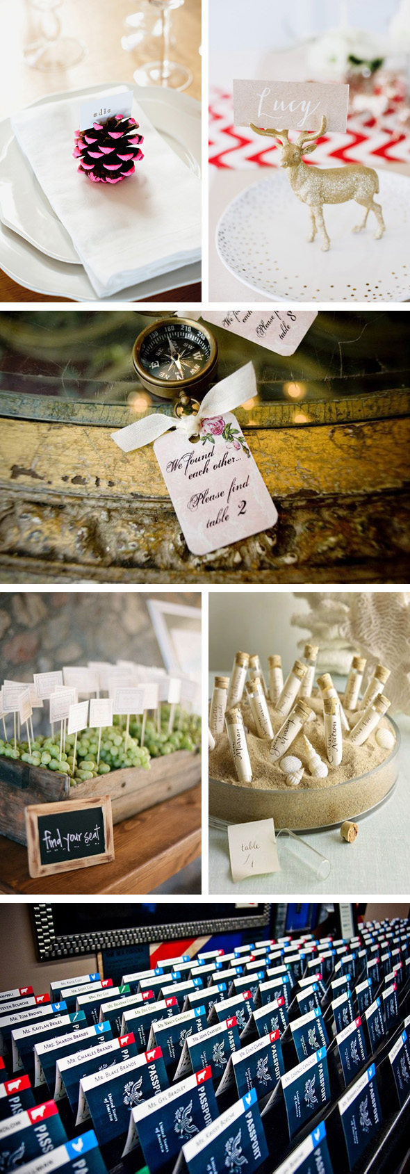 Destination Escort cards