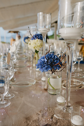 blue and white weddings Four Seasons Destination Wedding in Nevis