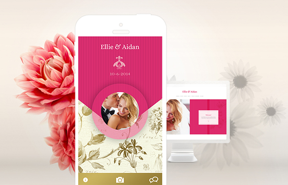 custom wedding websites Appy Couple Destination Wedding Website Discount Giveaway