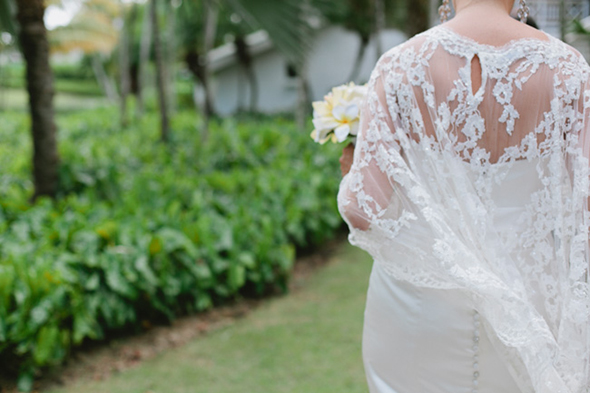 destination wedding dress Four Seasons Destination Wedding in Nevis