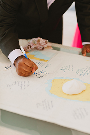 destination wedding map Four Seasons Destination Wedding in Nevis