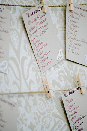 destination wedding paper details
