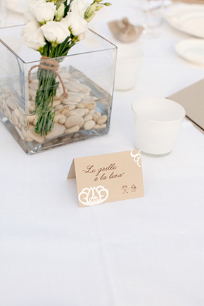 destination wedding tables