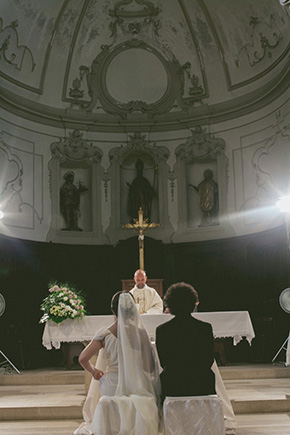 italy church wedding