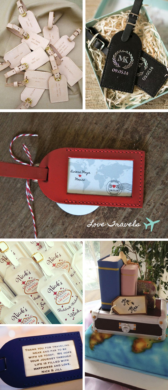 luggage tag destination wedding ideas1 Luggage Tag Destination Wedding Details