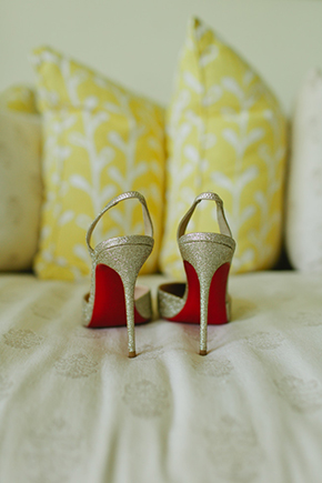 wedding shoes Four Seasons Destination Wedding in Nevis