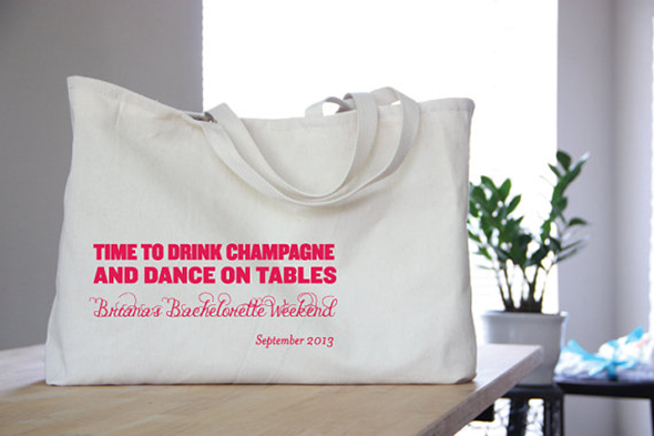 Totes for Your Destination Wedding Welcome Bags - The Destination ...