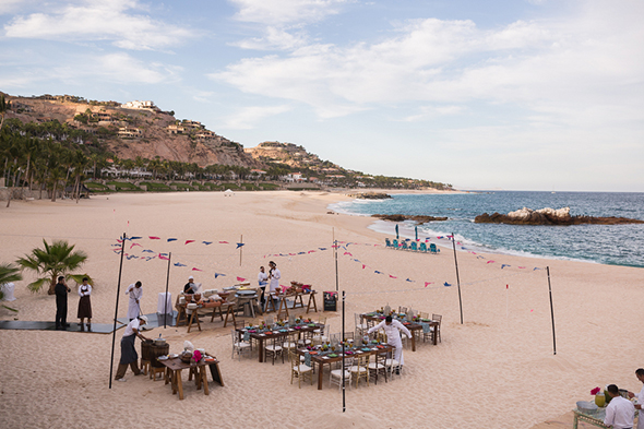 beach wedding Beach Wedding Rehearsal Dinner + Welcome Party