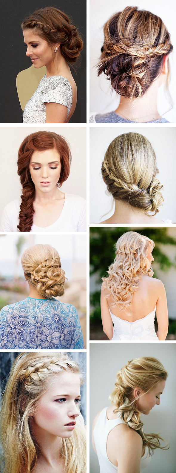 braid wedding hair styles
