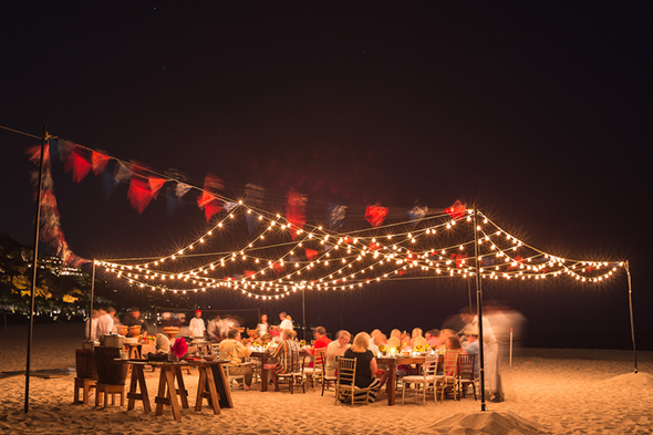 Beach Wedding Rehearsal Dinner Welcome Party The