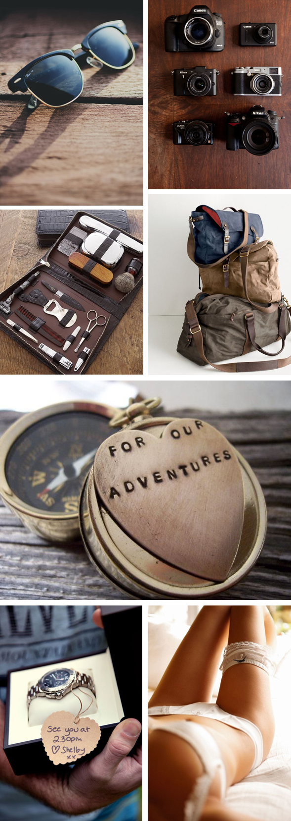 Travel Inspired Gifts for Your Groom