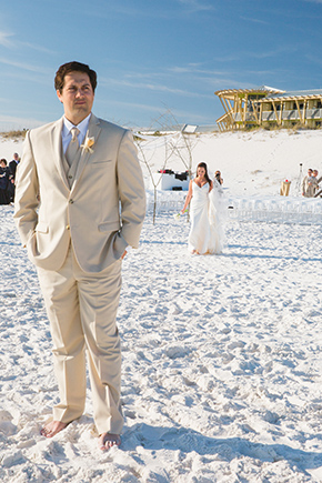 Watercolor Florida Beach Destination Wedding The