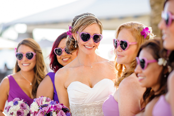 beach weddings2 St. Thomas USVI Destination Wedding in Purple