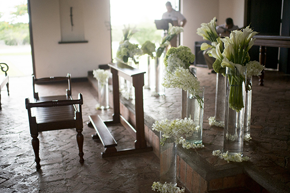 costa rica church wedding