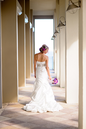 destination wedding dress2 St. Thomas USVI Destination Wedding in Purple
