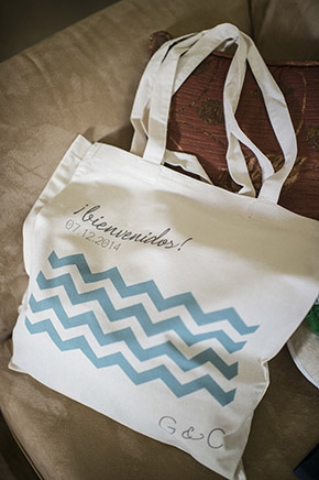 destination wedding welcome bags Destination Wedding in Guanacaste, Costa Rica