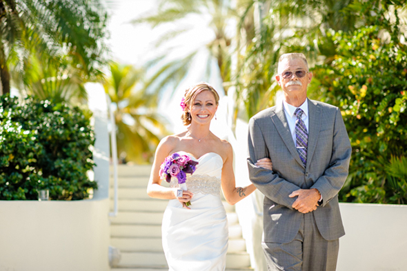 destination wedding1 St. Thomas USVI Destination Wedding in Purple
