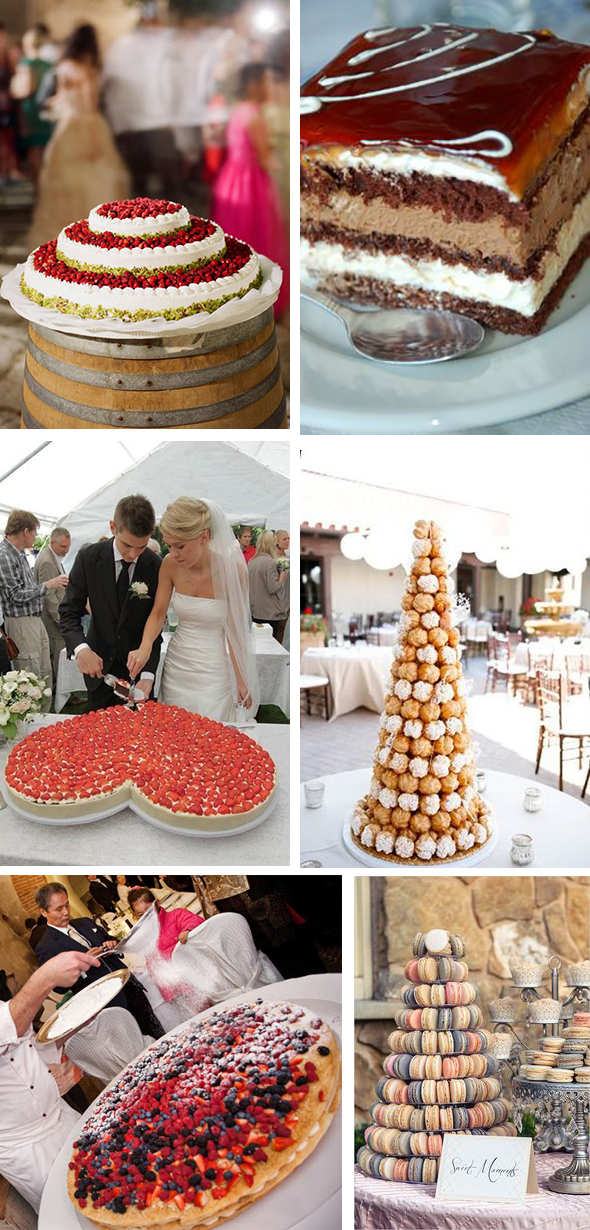 european wedding cakes Wedding Cakes Around the World