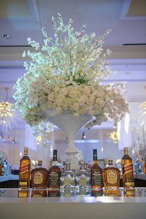 bar decor weddings