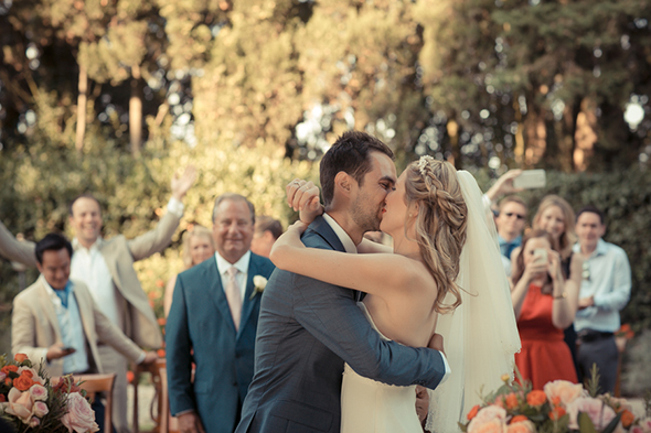 destination weddings An Outdoor Wedding in Tuscany, Italy