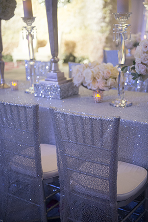 sparkle chair covers