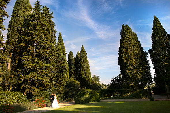 tuscany wedding venues An Outdoor Wedding in Tuscany, Italy