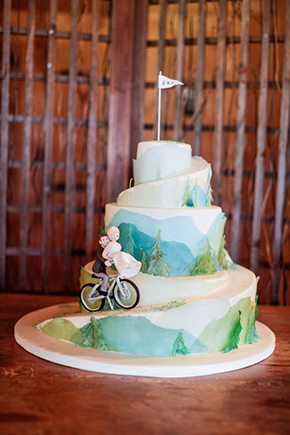 golf wedding cakes