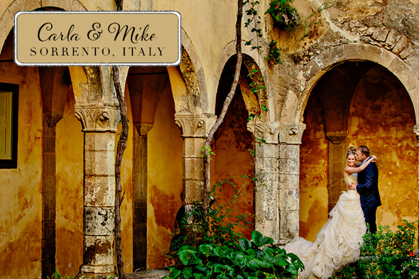 Sorrento Italy destination wedding