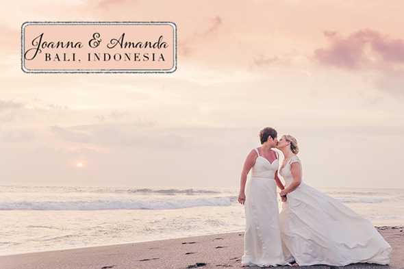 destination beach wedding bali