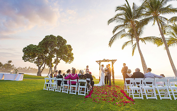 destination wedding kona