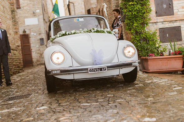 italy wedding cars
