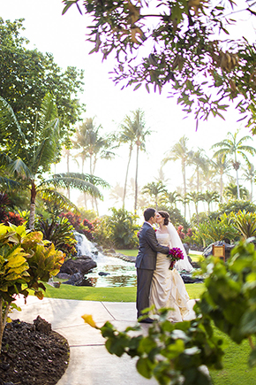 kona hawaii wedding