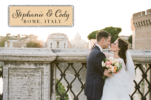 rome italy destination wedding