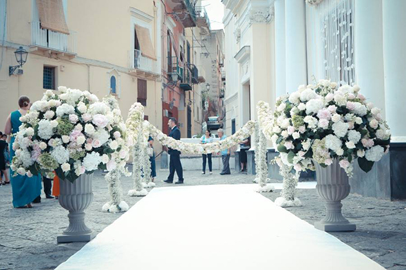 Church wedding italy
