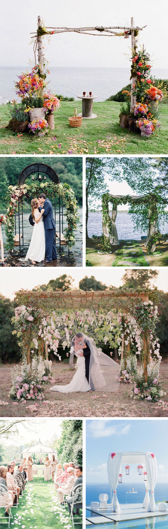 wedding canopies and arches