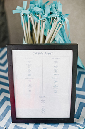 chevron weddings