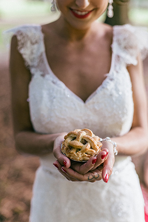 mini wedding pies