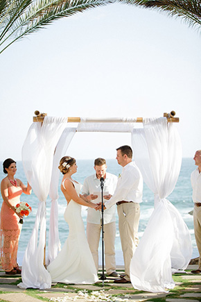 Destination Wedding At Esperanza Resort In Cabo San Lucas