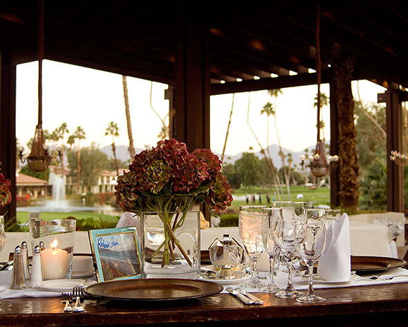 palm springs wedding location