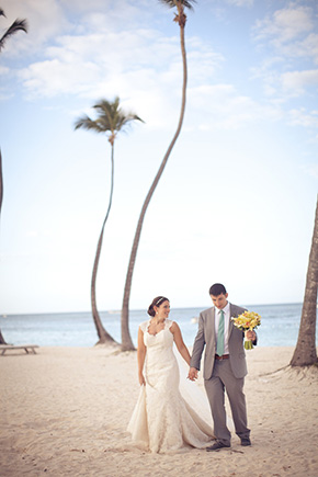 dominican republic beach destination wedding