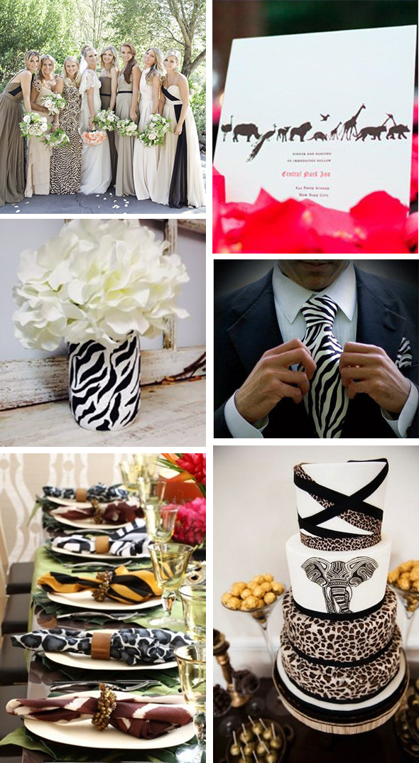 safari themed weddings